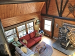 Lodge Style Damariscotta Lake Cabin: