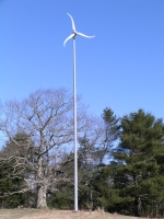 Energy Efficiency with Style, Views, Fields, and a Wind Turbine: