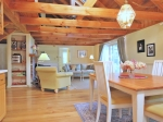 Biscay Lake Post and Beam on Private Cove: